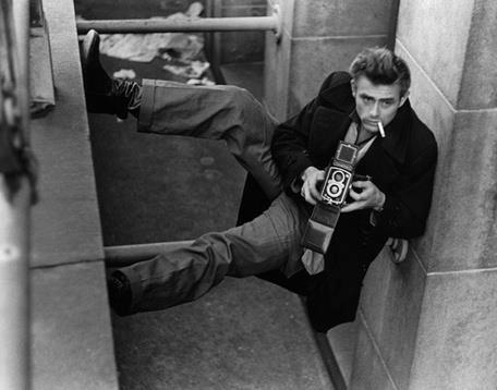 James Dean and a camera how have I never seen this before!