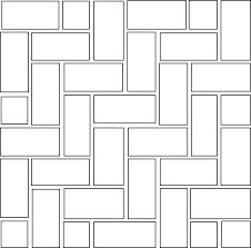 Image result for paving patterns 2 sizes