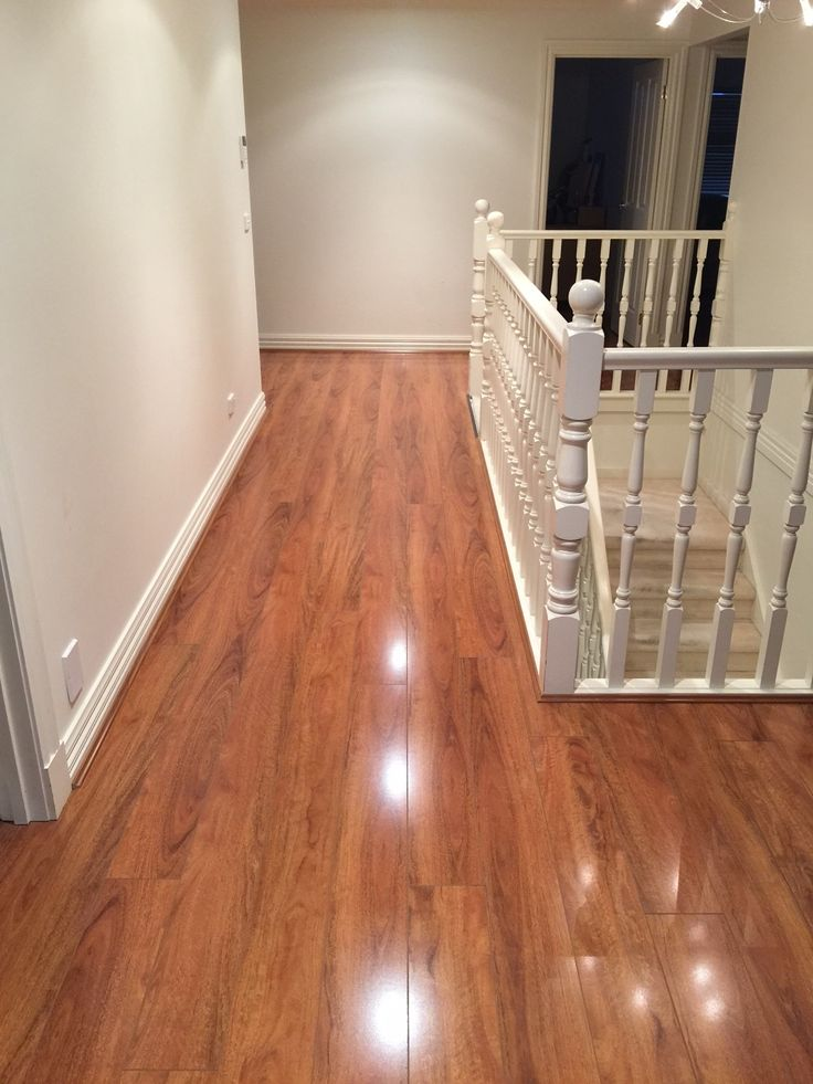 Timber Impressions Platinum laminate flooring - Flame Myrtle (upstairs)