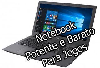 Acer 74q5 é um notebook potente e barato para jogos, possui processador e placa de video boa para rodar jogos pesados e esta a preço acessível.