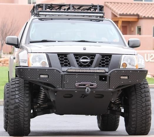Off Road Bumpers: Pathfinder Off Road Bumpers