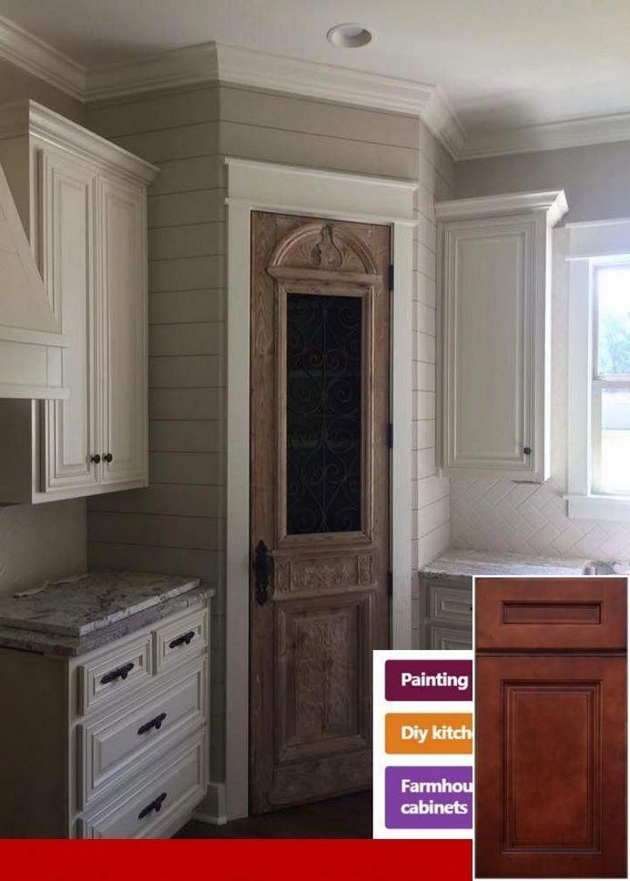 Beau Awesome   Pickled Oak Cabinets Updated. #oakkitchencabinets #cabinets