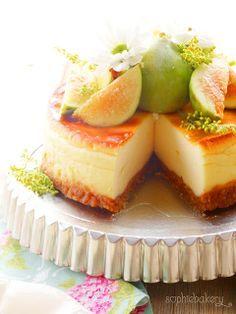 Cheesecake de higos. Figs Cheesecake