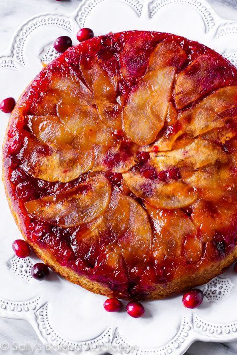 Apple upside down cake easy recipe