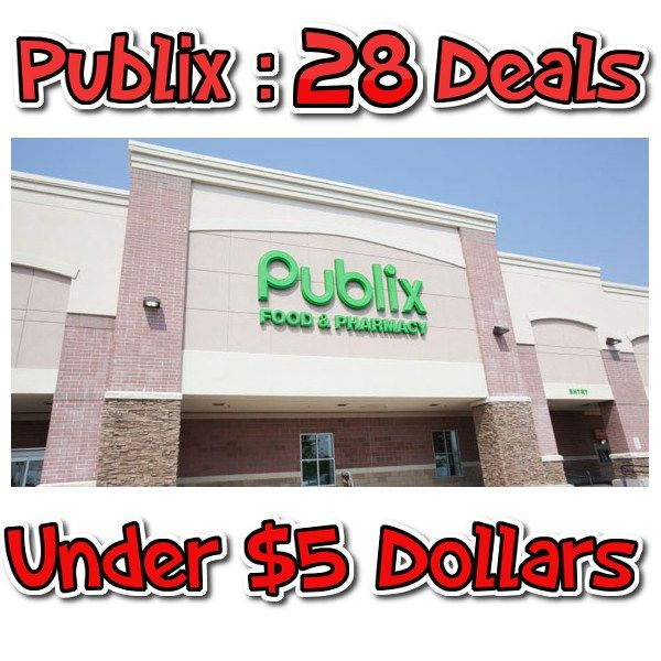 Publix: 28 Awesome Deals for Under $5 This Week - http://couponsdowork.com/publix-coupon-matchups/publix-5-dollar-deals-weekly-921922-dealios/