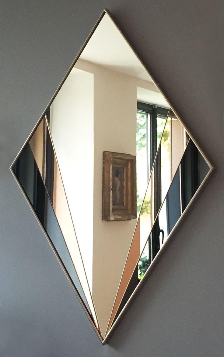 Miroir DESJEUX DELAYE Polychrome