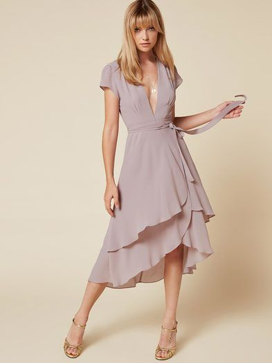 Cascade skirt variation idea- add a wrap bodice!