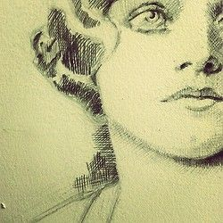 Artist Nora Ann-Frances Martin-Hall.