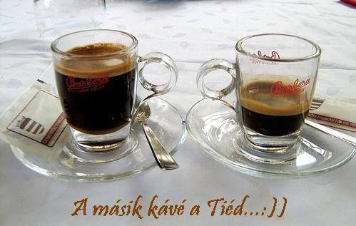 Másik kávé a Tied!