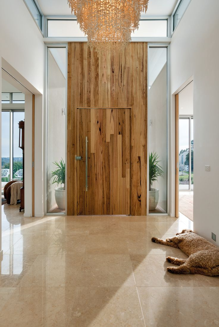 Ie closet doors and sometimes on an exterior door in conjunction with - Mt Eliza House Auswest Timbers Wormy Chestnut Door Entrance Designer The Owners In Conjunction With Modularc Builder Whiteside Homes Benchtops And