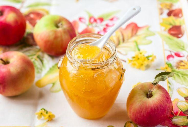 Варенье из яблок - рецепты вкусных и полезных десертов на зиму