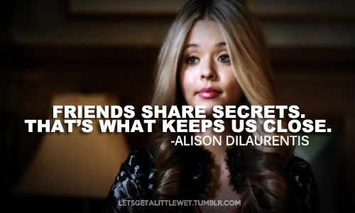 pretty little liars quotes alison - Google zoeken