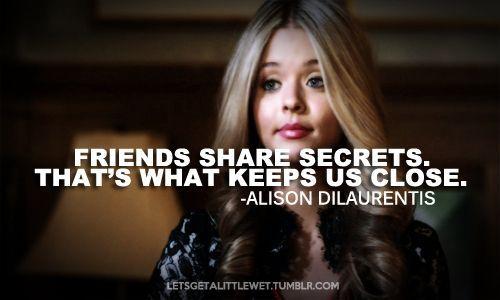 pretty little liars quotes alison - Google zoeken