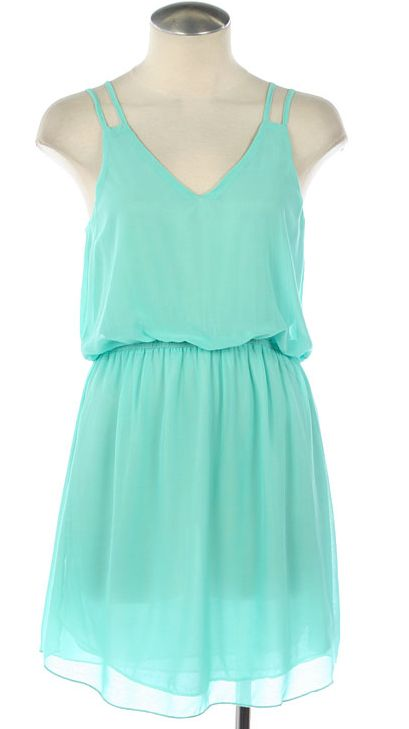 mint dress... perhaps for a friends wedding this summer....