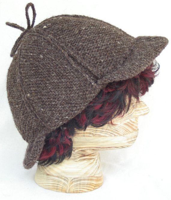 Crochet Deerstalker Hat Pattern : 95 best images about Sherlock steaming... on Pinterest ...