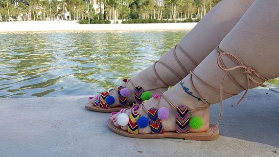 Boho Sandals Greek Sandals Leather Sandals Friendship