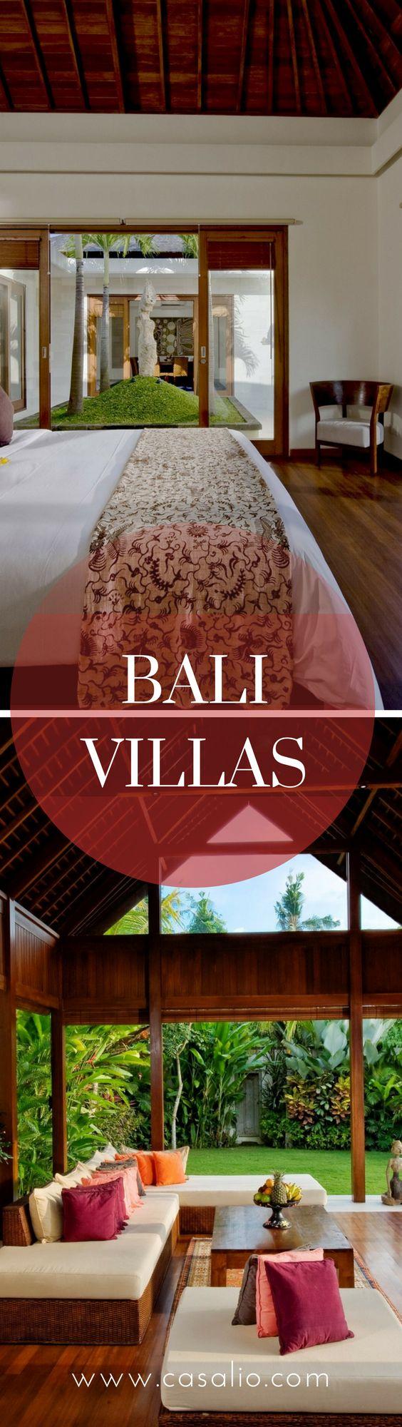 A Collection of the Best Holiday Villas in Bali - www.casalio.com - #bali #sabavillas #vacation #holiday #luxuryvillas #luxurytravel #travel #reisen #ferien #urlaub
