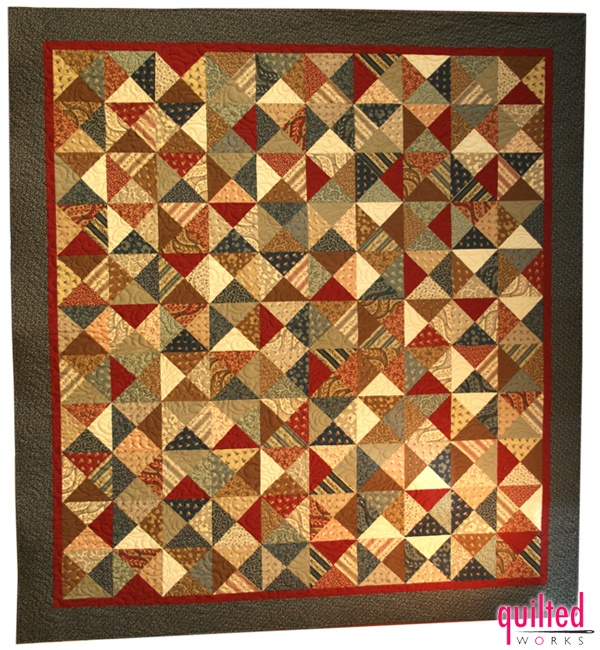 I Love This Hour Glass Quilt That My Friend Julie Made For