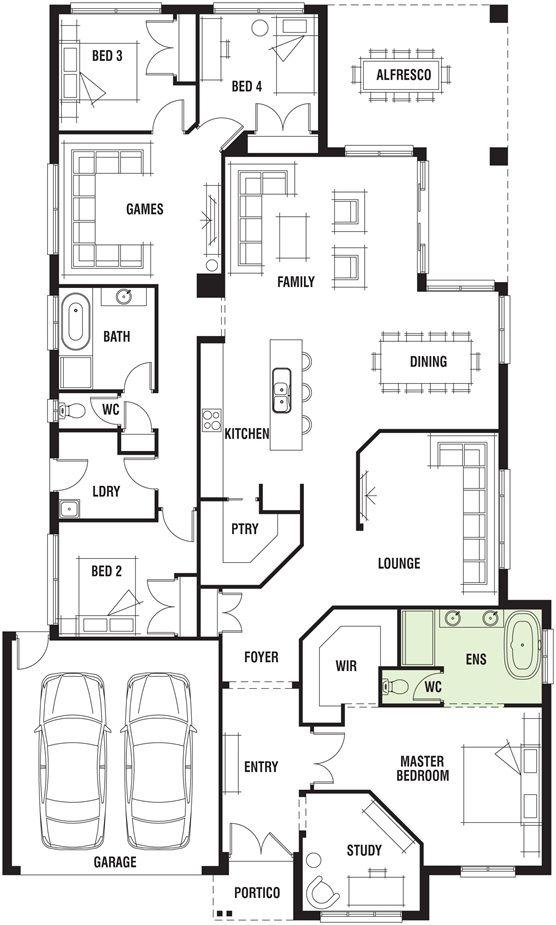 Porter davis homes floor plans gurus floor for Davis homes floor plans
