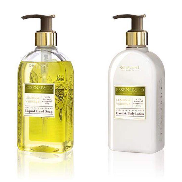 Flytande handtvål med naturliga eteriska oljor och en upplyftande doft av citron och verbena. Lyxig, fuktrik formula för torr hud som är mild nog att använda varje dag.  Återfuktande hand- och kroppslotion med naturliga extrakt, eteriska oljor och med doft av citron och verbena. Snabbabsorberande, icke-fet lotion som gör huden mjuk och smidig. Den perfekta uppföljningen efter användning av Lemon & Verbena Liquid Hand Soap eller Body Wash.  Dermatologiskt testade.