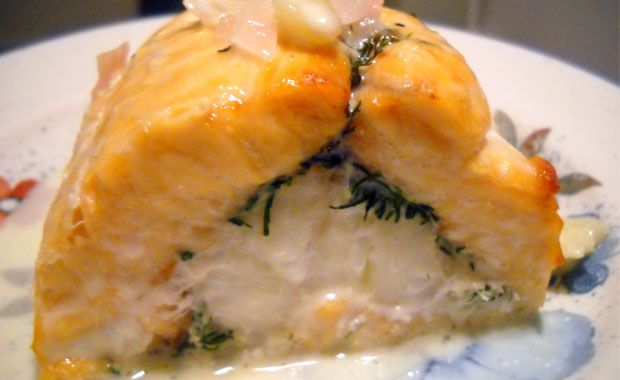Salmon Roulade—a fish recipe that replicates the look of sushi but without the seaweed: Fish Seafood Recipes, Chef Marsh, Fish Recipes, Recipes Fish, Fish Shrimp Seafood Sushi, Fish Dishes, Fabulous Fish, Delicious Recipes, Favorite Recipes