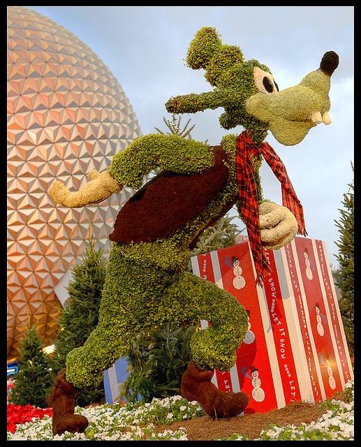 'Gwash! ~ Goofy' at Epcot in Disney World - photo by Jeff B., via Flickr