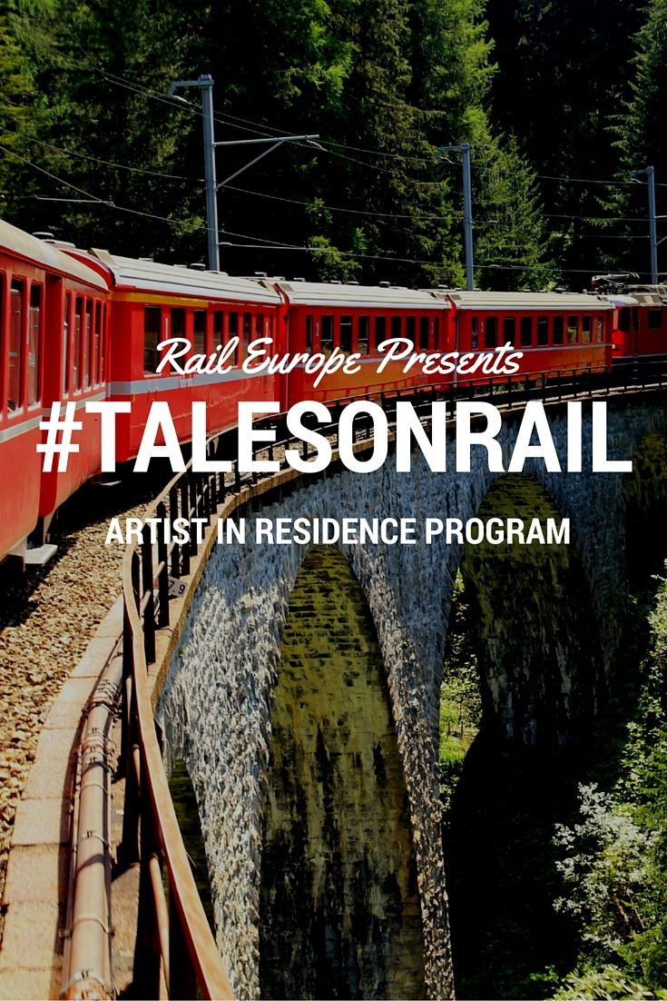 Rail Europe is sending one US and one Australian writer, artist, or photographer on an epic and inspiring train trip through #France & Switzerland! Apply now!