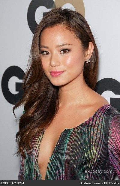 Jamie Chung. Makeup & hair.                                                                                                                                                                                 More