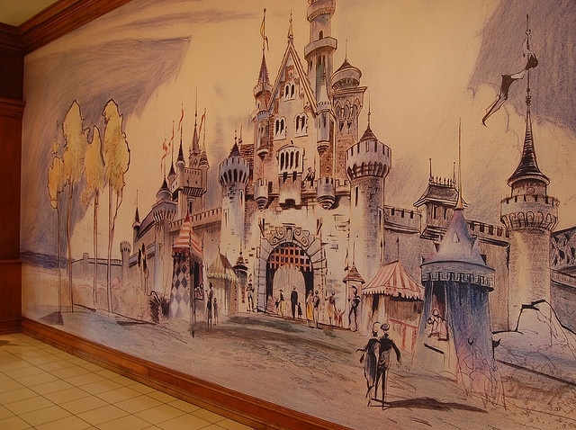 Best 25 disney mural ideas on pinterest for Disneyland mural