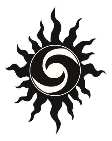 Irish Sun Symbol