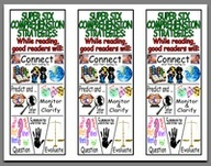 FREE Bookmarks to Support Comprehension~  From San Juan Unified School District