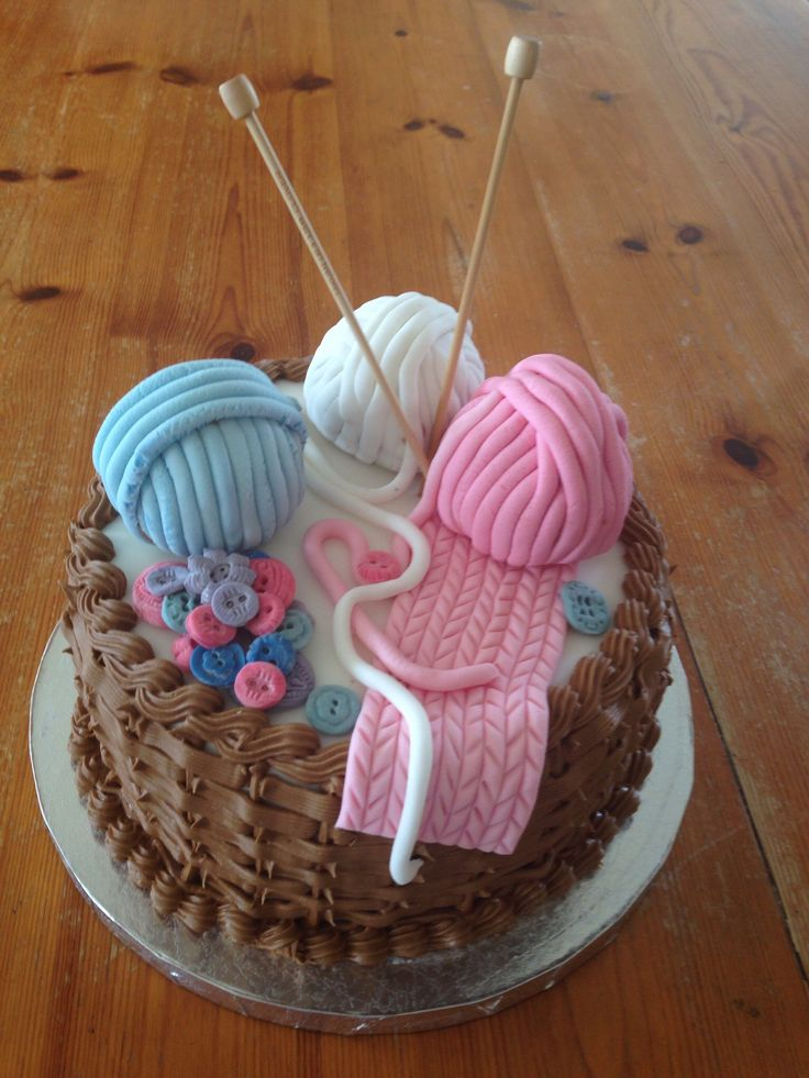 Knitting Cake Designs : Best my cakes images on pinterest anniversary