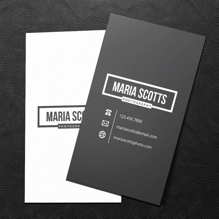 Really neat Premade Business Card Design - Print Ready - Printable Business Card - Charcoal and White - PDF & JPEG - 300 DPI 25.00 USD from BrandiLeaDesigns business card calling card premade design graphic design template custom professional business card design DIY photography simple vertical http://ift.tt/1jdf1gb