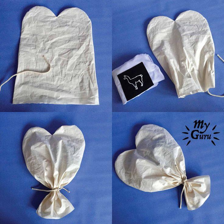 Blog wpis - my guru walentynkowe serduszko - sprytne opakowanie na prezent - pakujemy w www.myguru.pl
