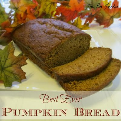 Best ever pumpkin bread recipe - makes two loaves!