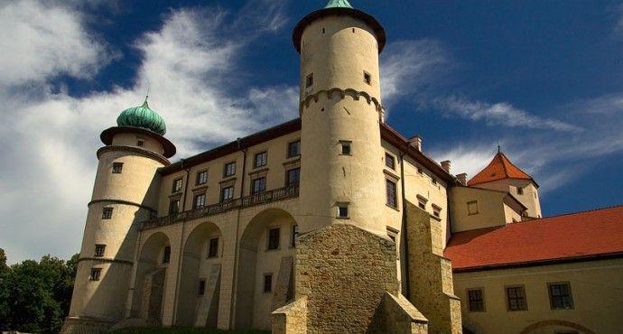 Zamek Kmitów w Lesku