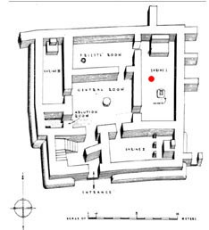 Square temple of Abu, Tell Asmar (Eshnunna), Early Dynastic period, c. 2700 BCE. The square temple was where all the votives with the crazy eyes were recovered (remember them?)