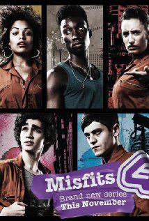 Misfits (2009-), Howard Overman, avec Iwan Rheon, Lauren Socha, Nathan Stewart-Jarrett, Antonia Thomas et Robert Sheehan.