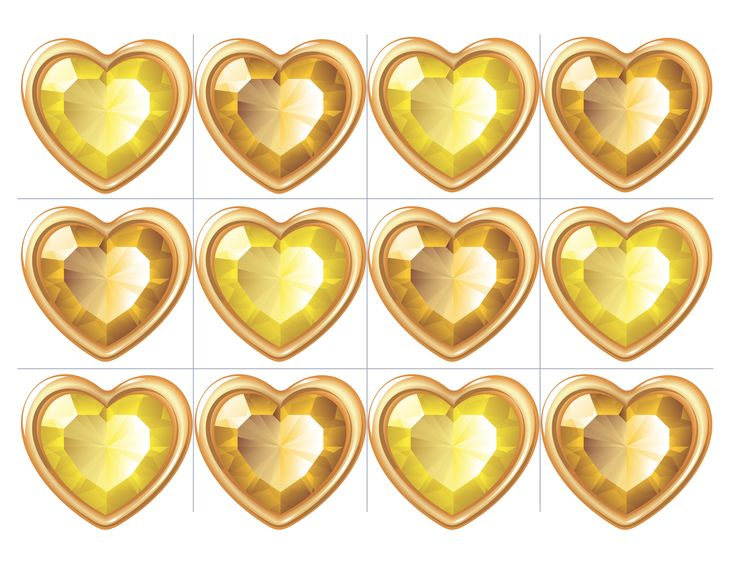 gold gems