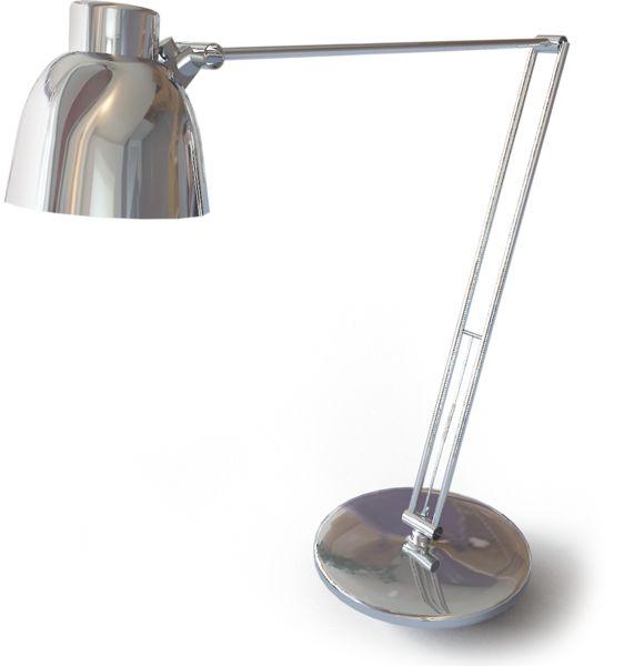 BIM objects Antifoni Work Lamp 3D