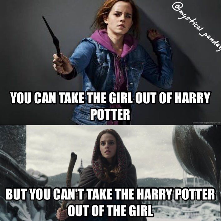 This is so true, I was watching Beauty and the beast and I saw Hermione in bell and I couldn't imagine her as bell