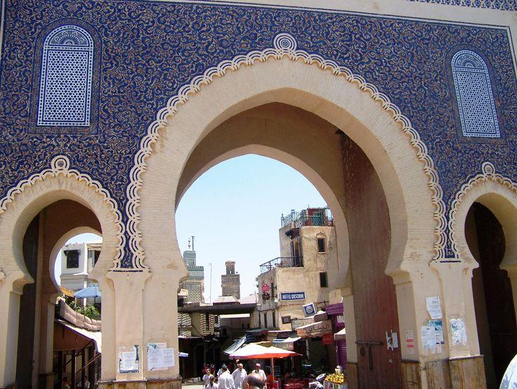 Fez: Bab Boujloud