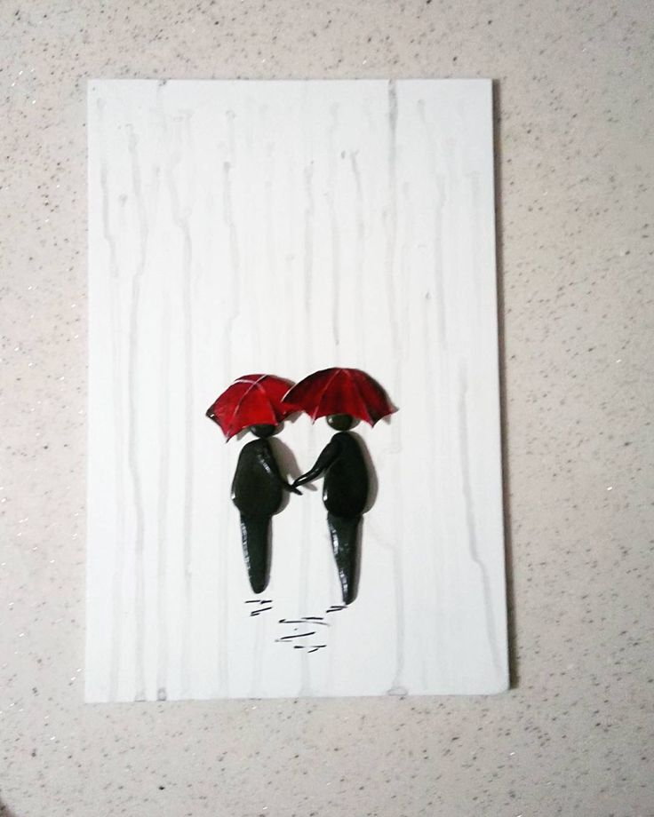 Love...but one umbrella should be yellow..how I met your mother