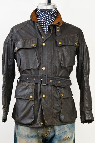 Vintage belstaff leather jacket