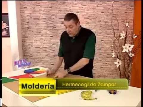 Hermenegildo Zampar - Bienvenidas TV - explica en moldería una Camisa de...