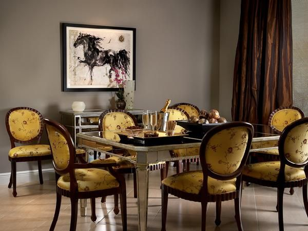 Dining Room Colors Brown 161 best gray and yellow decor images on pinterest | architecture