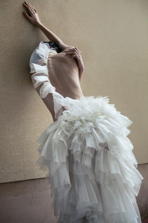 blankforblack: photography Ricardo Abrahao | HUNGER TV model Alina Zolotikh