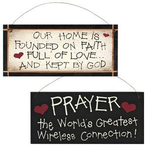 199 best gift plaques images on pinterest gift store wood gifts 2 sided wooden gift plaque prayer the worlds greatest wireless connection negle Images