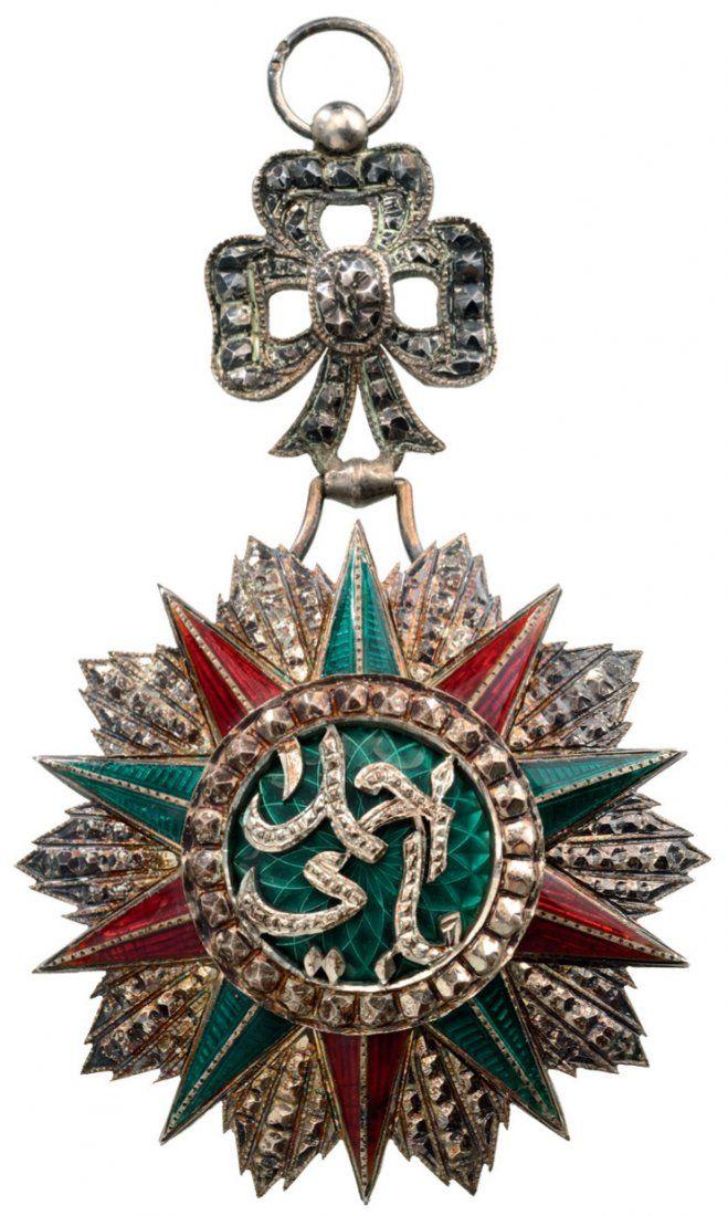 ORDER OF NISHAN EL IFTIKHAR : Lot 2643