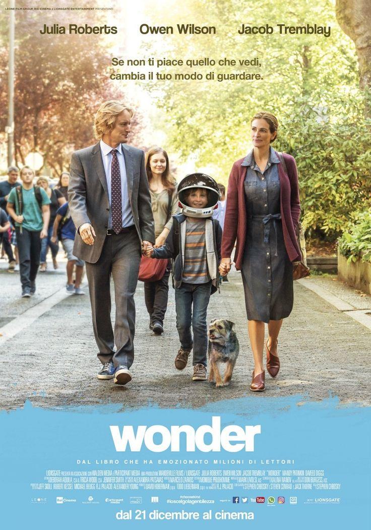 Wonder, scheda del film di Stephen Chbosky con Julia Roberts, Owen Wilson e Jacob Tremblay, leggi la trama e la recensione, guarda il trailer, quando esce e dove vederlo, trova cinema Roma Milano tutta Italia.